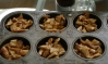 chanterelles portioned to freeze